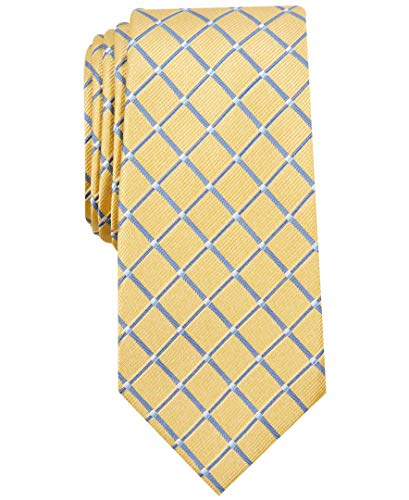 Nautica Men's Shoal Geo, Yellow, One - Tie Nautica Mens