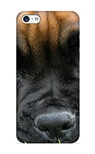 Ednahailey Perfect Tpu Case For Iphone 5c/ Anti-scratch Protector Case (animal Dog)