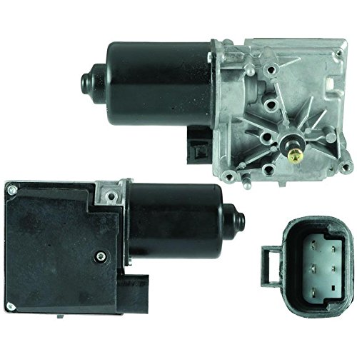 New Front Wiper Motor W/Pulseboard Module For 2000-2005 Chevrolet Impala Monte Carlo, Replaces 12367316, 12494761, 22144097, 88958109