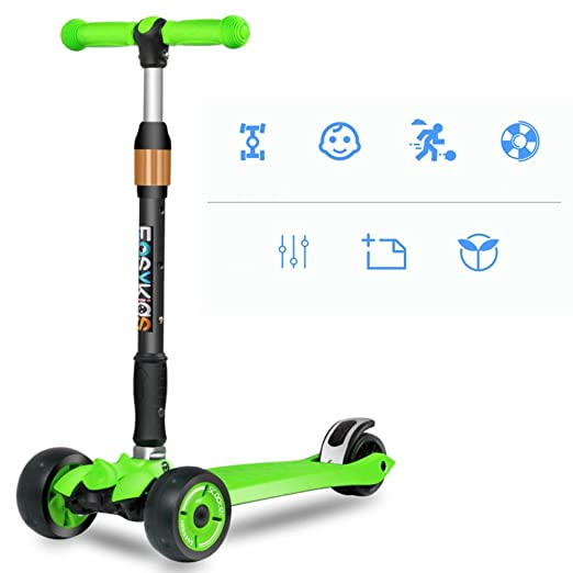PIAOL Patinete Plegable Scooter Monopatín Unisex Kick ...