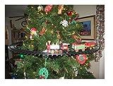 Nicky Bigs Novelties Light Sounds Animated Christmas Train Set Holiday Decoration Mounts in Tree