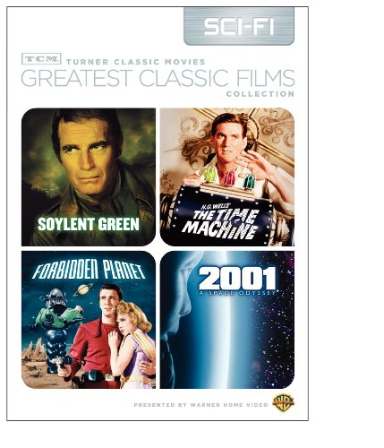 TCM Greatest Classic Films Collection Science Fiction (2001 A Space Odyssey  Soylent Green  Forbidden Planet  The Time Machine 1960)