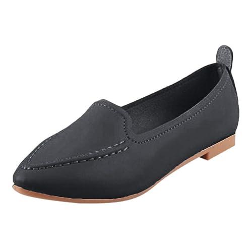 Mocasines Planos para Mujer, Zapatos Comodos Plataforma Cuña, Zapatillas Náuticos Adecuado para Oficina y Uso Diario: Amazon.es: Zapatos y complementos