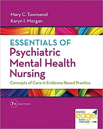 Amazon Com 0803658605 9780803658608 Essentials Of Psychiatric