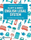 img - for English Legal System book / textbook / text book