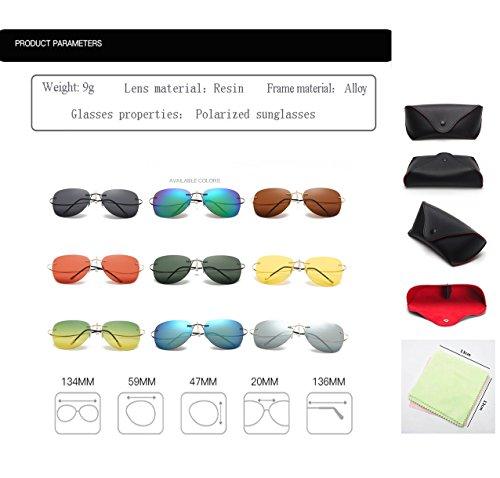 Silhouette Titane Lunettes nbsp; Lunettes Léger Ultra Polaroid Hommes Titanium 100 Monture Lunettes TL Sunglasses sans ZP2117 C6 Polarisées Polaroid IqwxEtXcF
