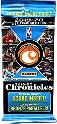 2019-2020 Panini Chronicles Basketball Value Pack (15 Cards/Pack)
