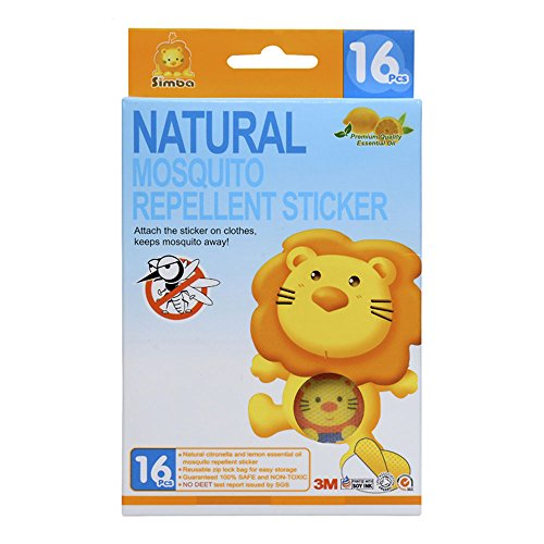 simba-natural-mosquito-repellent-sticker-16pcs-with-citronella-and-lemon-extract