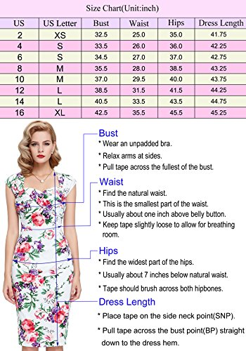 Back Priont Floral 2 Blue Vintage Retro Dress Belle Cotton PoqueHollowed 5AxHtywp