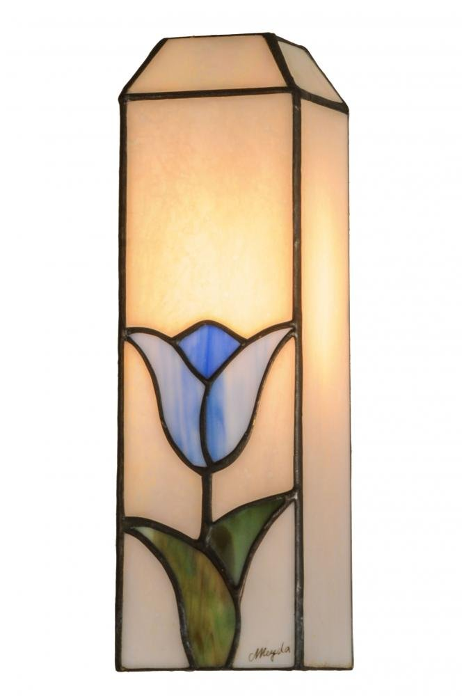 Meyda Tiffany 145986 Tulip Lamp Shade, 4 sq. in.