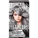 Got2b Metallic Permanent Hair Color M72 Dusty Silver