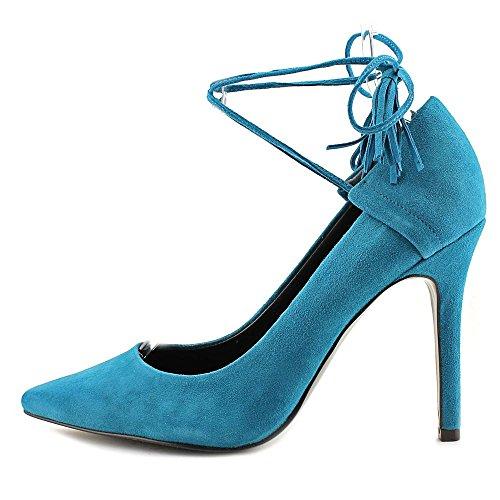 Suppose Que Les Femmes Binum Robe Pompe Bleu