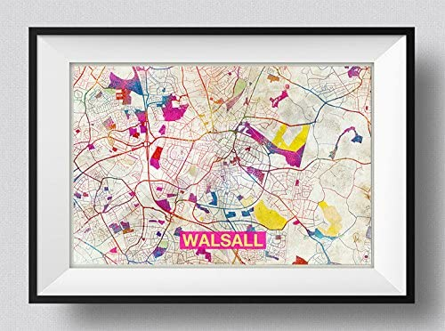 Poster Map of the UK 40 x 60cm