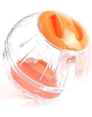 Hamster Running Ball en Plastique Jogging Exercice Jouets Petit Animal Roues Running Souris Souris Courant Boule De Cristal(diamètre 12cm)