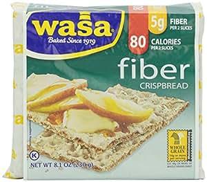 Wasa Fiber Rye Crispbread, 8.1 oz