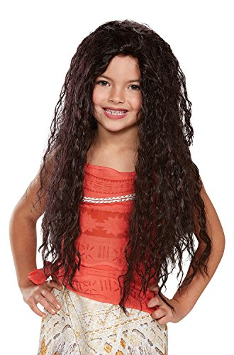 Disguise Disney Moana Deluxe Child Wig