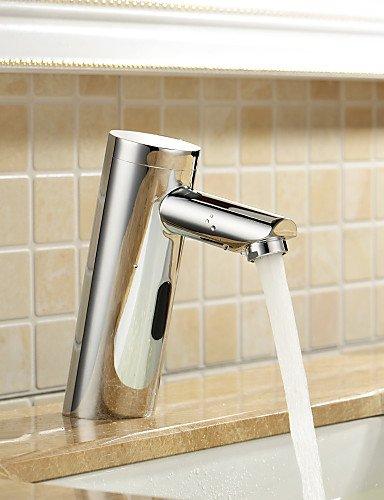 Messing Waschbecken Wasserhahn mit automatischer Sensor (kalt)
