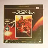 Rare 6 Star Trek Laser Disc Blowout in Original Shrink Wrap with Tower Records Tag : Star Trek 1979 Wrath of Khan The Search for Spock The Voyage Home The Final Frontier The Undiscovered Country