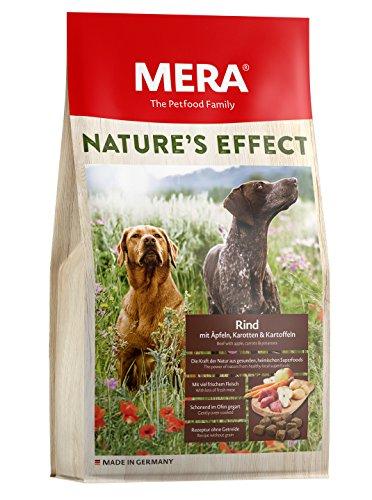 MERA Nature´s Effect, Getreidefreies Hundefutter, Premium Trockenfutter für Hunde mit Rind, Äpfeln, Karotten und…