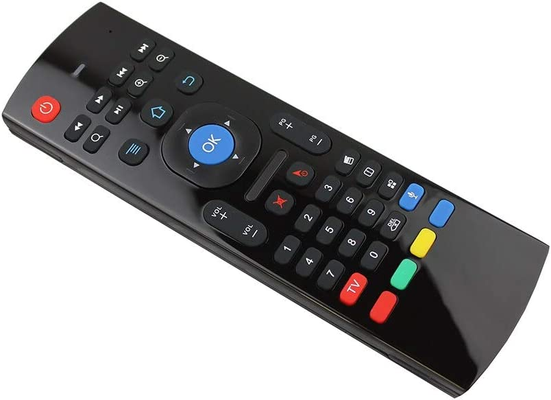 Color: EN W Mic No Backlit Calvas MX3-A MX3-M Air Mouse MX3 Remote Control with Voice 2.4G RF Wireless Keyboard For Tx3 Mini A95X X96 T95Z Plus Android TV Box