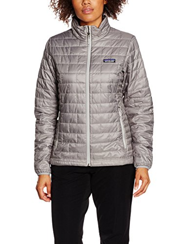 Price comparison product image Womens Patagonia Nano Puff Jacket Feather Grey 84217 (m)