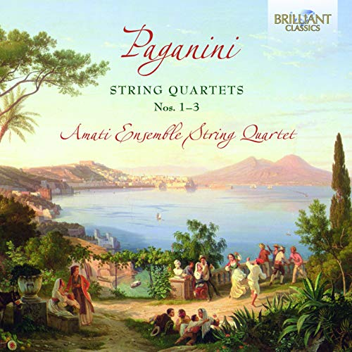 Paganini: String Quartets No. 1-3