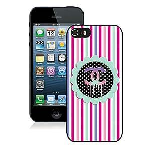 NEW DIY Design Beautiful Fashion Hard Shell iPhone 5s Generation Cover Case 45 Black