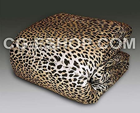 Piumone Matrimoniale Leopardato.Confezioni Giuliana Trapunta Matrimoniale Leopardata Maculata