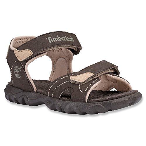 Timberland Boys Sandals - Timberland Kids Brown/Tan Splashtown 2 Strap Sandal Tod 4.0 US Toddler