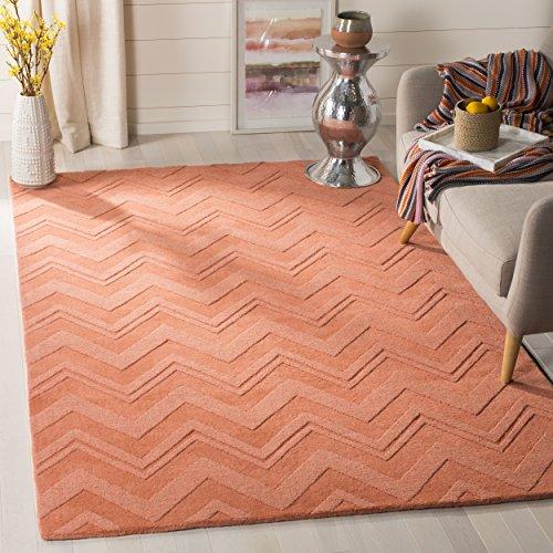 Safavieh Impressions Collection IM398A Handmade Peach Premium Wool Area Rug (5' x 8')