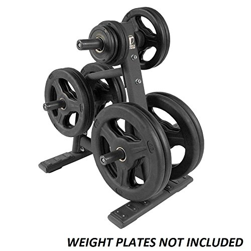 Torque Fitness XOPT Commercial Olympic Plate Tree - Bumper Plate Rack - X Series Gym Storage Rack