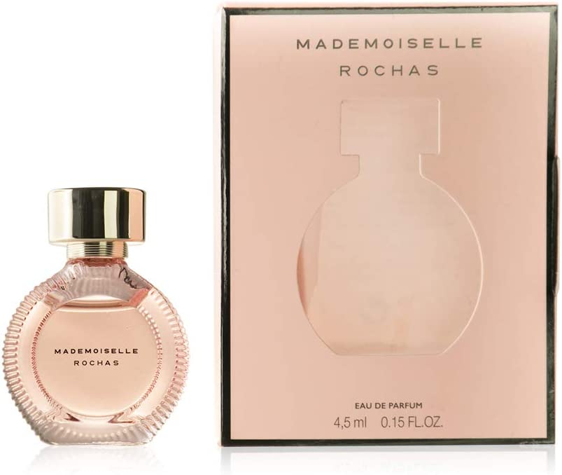 Mini perfume Mademoiselle Rochas 4,5 ml. Eau de parfum: Amazon.es: Belleza