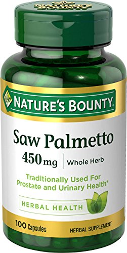 Natures Bounty Natural Palmetto Capsules product image