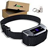 Naturepets Bark Collar with Smart Detection Module By Dual Stop Anti-Barking Mode: Beep & Shock for Small, Medium, Large Dogs - No Barking Collar Stop Barking Safe Humane Device