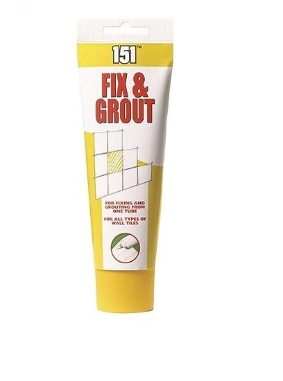 dpny Fix y lechada para azulejos de pared 180 ml tubo de flexible Fix y lechada