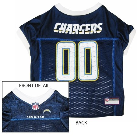 Pets First SDCJ-S San Diego Chargers NFL Dog Jersey - Small