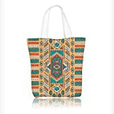 Best  - Ladies canvas tote bag Tribal Aztec Secret Tribe Review