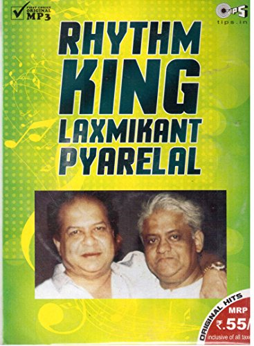 Rhythm King Laxmikant Pyarelal – MP3 CD Audio CD