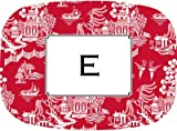 Boatman Geller - Personalized Valentine's Day Melamine Platters (Chinoiserie Red)