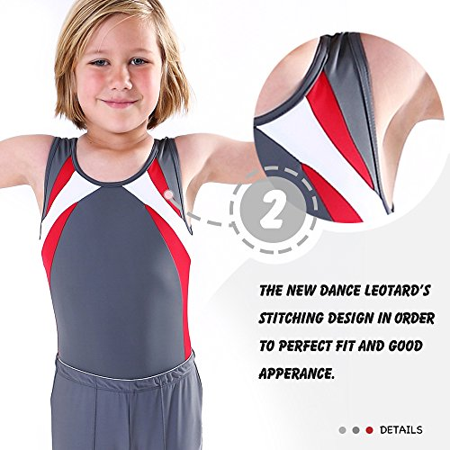 cebd8e07fce9 Boy's Gymnastics Leotard Toddler Ballet Dance Practice Atheletic Competition  Training Tank