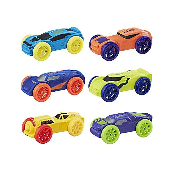 Nerf Nitro Foam Car 6 Pack