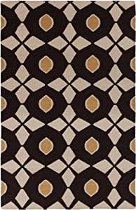 Surya Frontier Brown, Cream 8'x11' Contemporary Area Rug