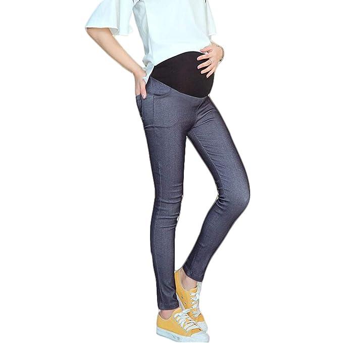 69ade5faa gaga city Pantalones Premama Leggins Embarazada Mujer Elasticos ...
