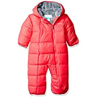 Columbia Baby Girls' Frosty Freeze Bunting, Punch Pink Floral Emboss, 0-3 Mon...