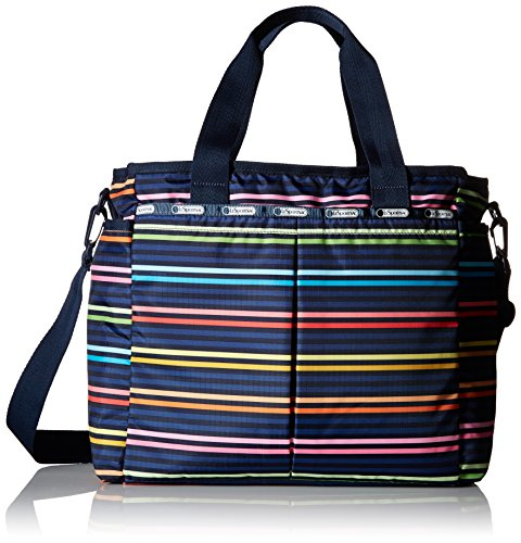 LeSportsac Ryan Baby Diaper Bag Carry On, Baby Lestripe, One Size
