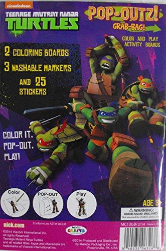 Amazon.com: Teenage Mutant Ninja Turtles Pop-Outz Grab Bag ...