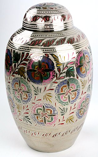 Lattice Flower Funeral Urn