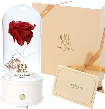 Anniversario Di Matrimonio Musica.Coludor Scatola Musicale Con Rose Artificiali Regalo Di San