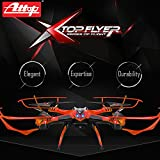Premium Flyer Cyclone Remote Control Drone RC Quadcopter w HD Camera, 2.4GHz 4-Channel w Gyroscope, 360 Degree Flips, Multi Flying Directions, Long flight distance and flight time, YD-drone-A10C