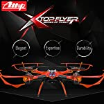 Top Quality Flyer Cyclone Remote Control Drone RC Quadcopter w HD Camera, 2.4GHz 4-Channel w Gyroscope, 360 Degree Flips, Multi Flying Directions, Long flight distance and flight time, Great Fun